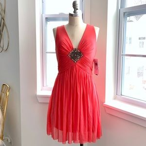 Coral Cocktail/Formal Dress (Never worn!)